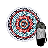 """Beach Towel for Swimming Pool - Yoga Mat - Beach Blanket Sandproof - Picnic Blanket - Beach Towels Oversized Thick - Beach Mat - 71"""" Extra Large - Microfiber - Camping - Vacation - Travel Beach Bag"""