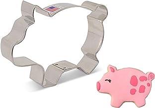 "Ann Clark Cookie Cutters Marranitos/Cute Pig Cookie Cutter, 4.25"""