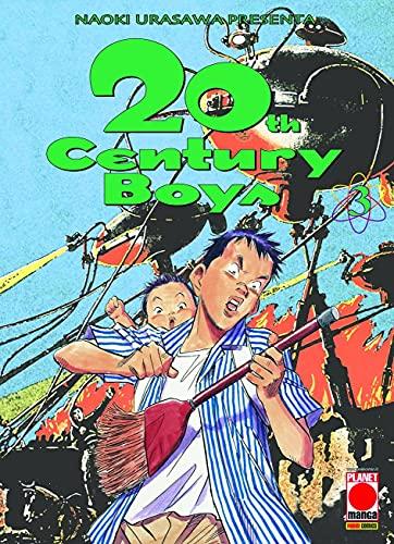 20th Century Boys N° 3 - Ristampa - Planet Manga - Panini Comics - ITALIANO