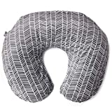 Minky Nursing Pillow Cover - Herringbone Pattern Slipcover