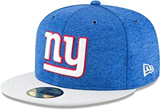 New Era New York Giants NFL Sideline 18 Home On Field Cap 59fifty Fitted OTC