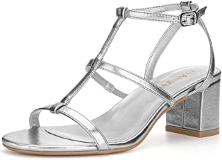 Best t strap block heel sandals Reviews