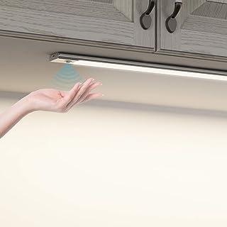 SOAIY Luz bajo mueble cocina con sensor movimiento de la mano Iluminacion ajustable led cocina bajo mueble luz cocina ba...