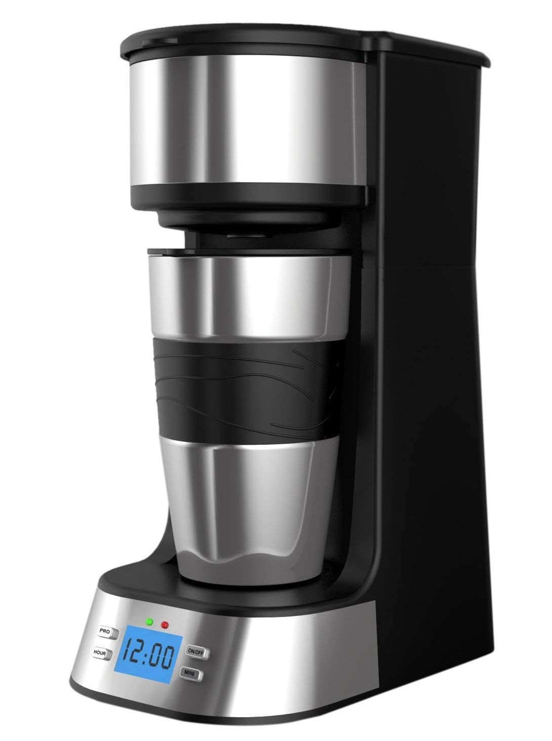 PowerDoF - Cafetera digital programable con goteo automático, de plástico: Amazon.es: Hogar