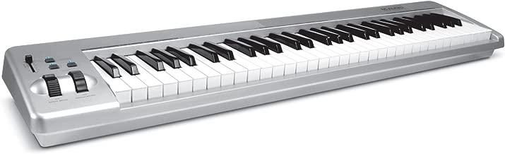 M-Audio Keystation 61ES 61-Key USB MIDI Keyboard Controller with Semi-Weighted Keys (OLD MODEL)