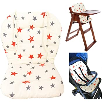 High Chair Seat Cushion Liner Mat Pad Cover Protector Breathable Baby Stroller