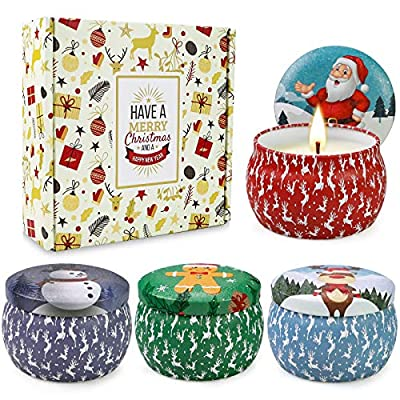 Christmas Scented Candles Gifts