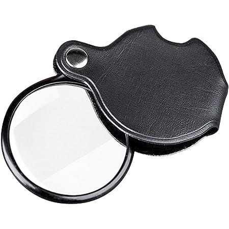 Folding 10X Mini Pocket Jewelry Magnifier Magnifying Eye Glass Loupe Lens  yu