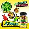Hèmp Gummies 2000000 for Pain and Anxiety Relief, Premium Gummy Bears Improve Sleep, Reduce Stress, Calm Mood, Vegan and Organic #1