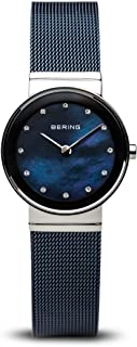 BERING Time 10126-307 Womens Classic Collection Watch with Mesh Band and Scratch Resistant Sapphire Crystal. Designed in Denmark.