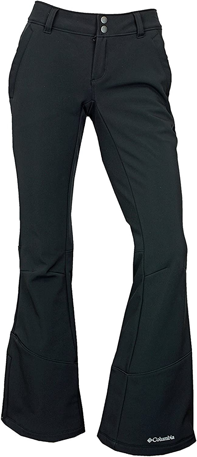 Columbia Women's Squaw Ascent Softshell OmniHeat Reflective Thermal Insulated Ski Pants (12)