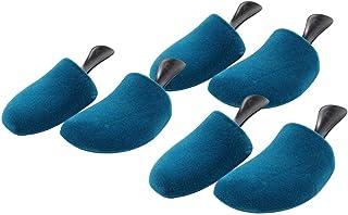DELFA 3 paires d'embauchoirs de chaussure en mousse «3D», de forme spéciale pour chaussures de sport, baskets et chaussure...
