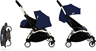 Babyzen YoYo+ Stroller Bundle (Yoyo+ Stroller, Canopy & Newborn Pack) Air France Blue