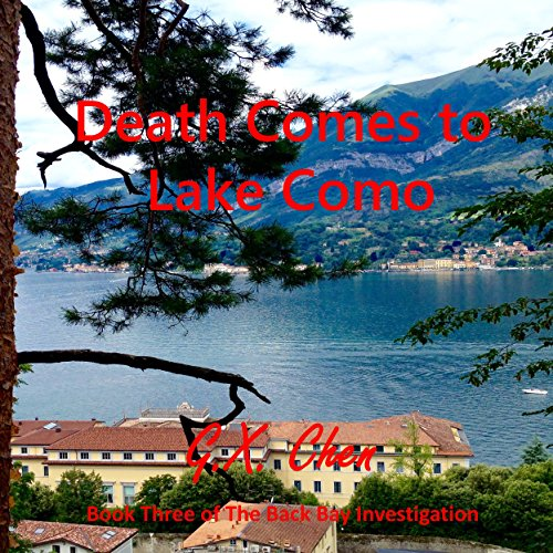 Death Comes to Lake Como audiobook cover art