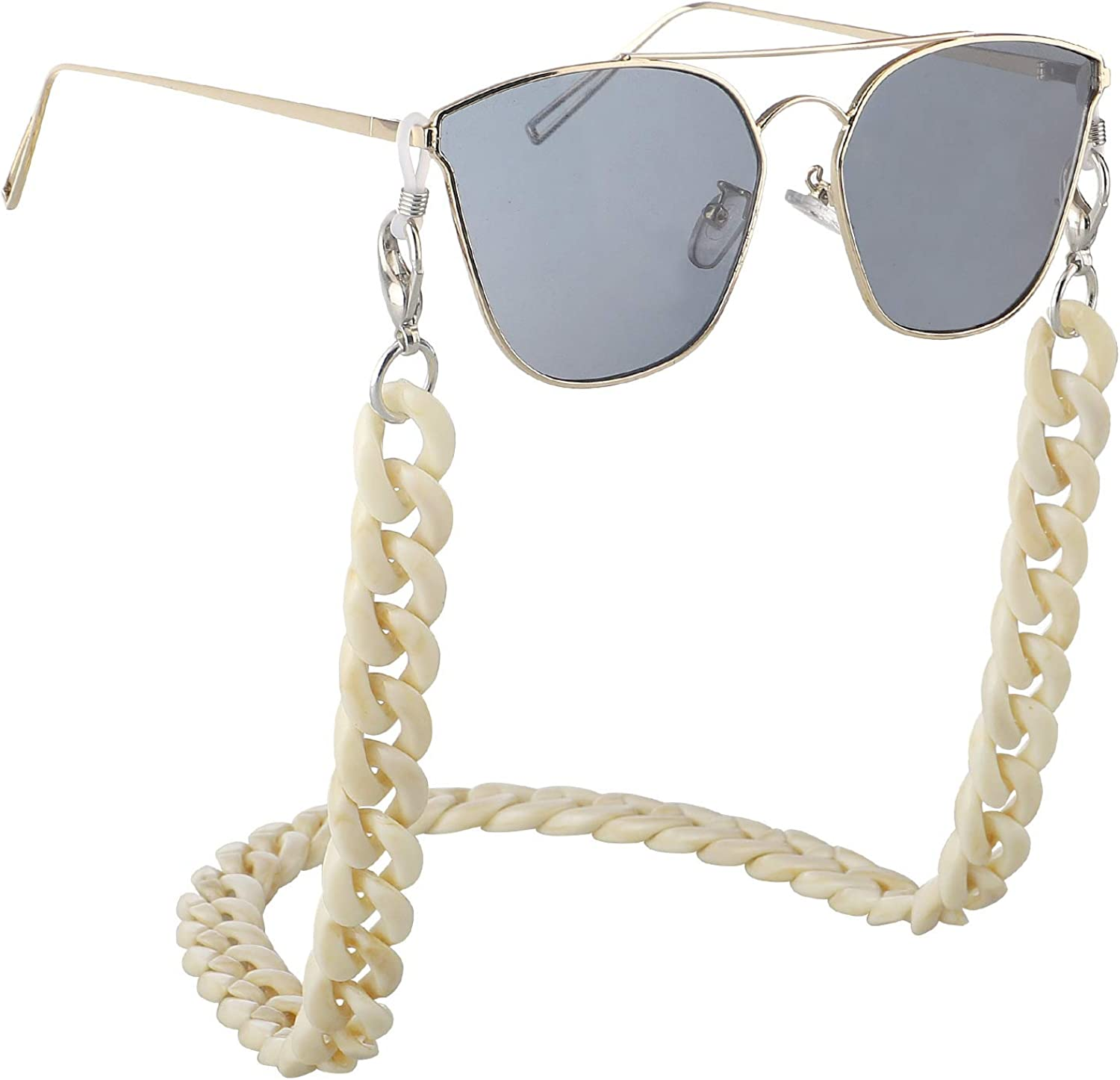 Fashion Award Twist Sale Special Price Link Acrylic Sunglasses Eyegl Marble Chain Texture