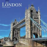 London 2021 12 x 12 Inch Monthly Square Wall Calendar, UK United Kingdom City