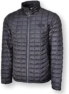 The North Face Men's Thermoball Full Zip Jacket, Asphalt Fusebox Grey Process Print, XL