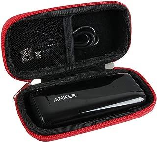 difficile EVA Viaje Rojo Casos para batería Externa Anker Astro E15200mAh/6700mAh Power Bank Ultra-compacte par Hermitshell