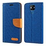 Ulefone Power 6 Case, Oxford Leather Wallet Case with Soft