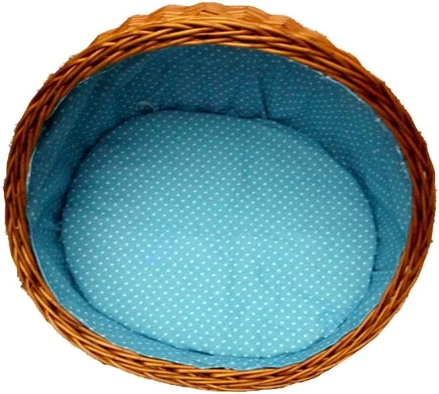 BUYT Cool Summer Cat Nest Pet Bed Round Supplies Ratta Award-winning store half House