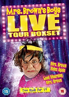 Mrs. Brown's Boys Live Tour Boxset - Good Mourning Mrs. Brown / Mrs. Brown Rides Again
