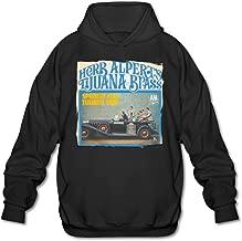 SAMMOI A Taste Of Honey-The Tijuana Brass Herb Alpert 3 Men's Fashion Hooded Sweatshirt Black
