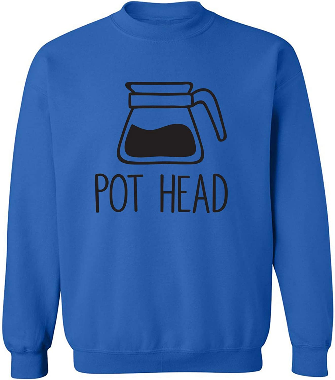Coffee Pot Head Crewneck Sweatshirt