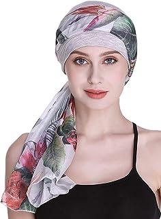 أغطية للرأس للنساء لتساقط الشعر ووشاحات وإكسسوارات الشعر المستعار وغطاء للرأس من كيمو