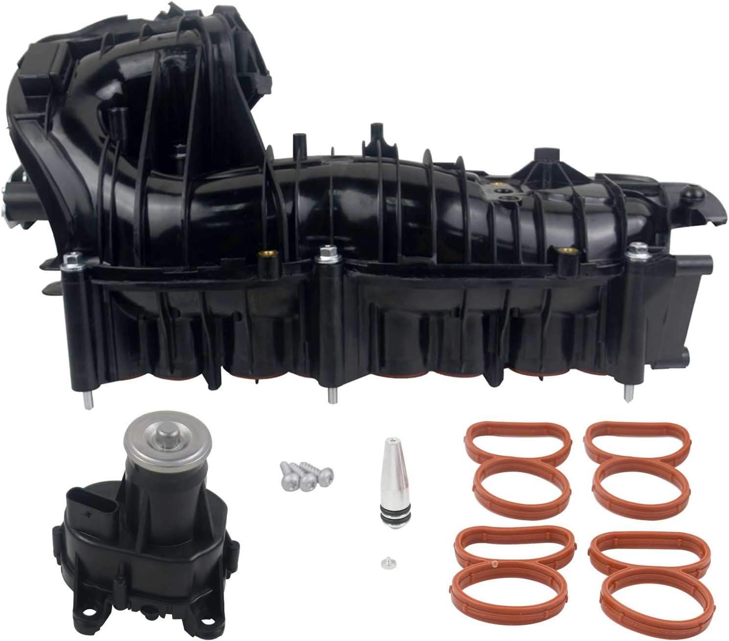 11618507239 Colector de admisión+actuador+kit de reparación para E60 E61 E82 E83 E84 E90 E91 E92 E93 1 3 5 Series X1 X3 2.0D con motor N47 2007-2015