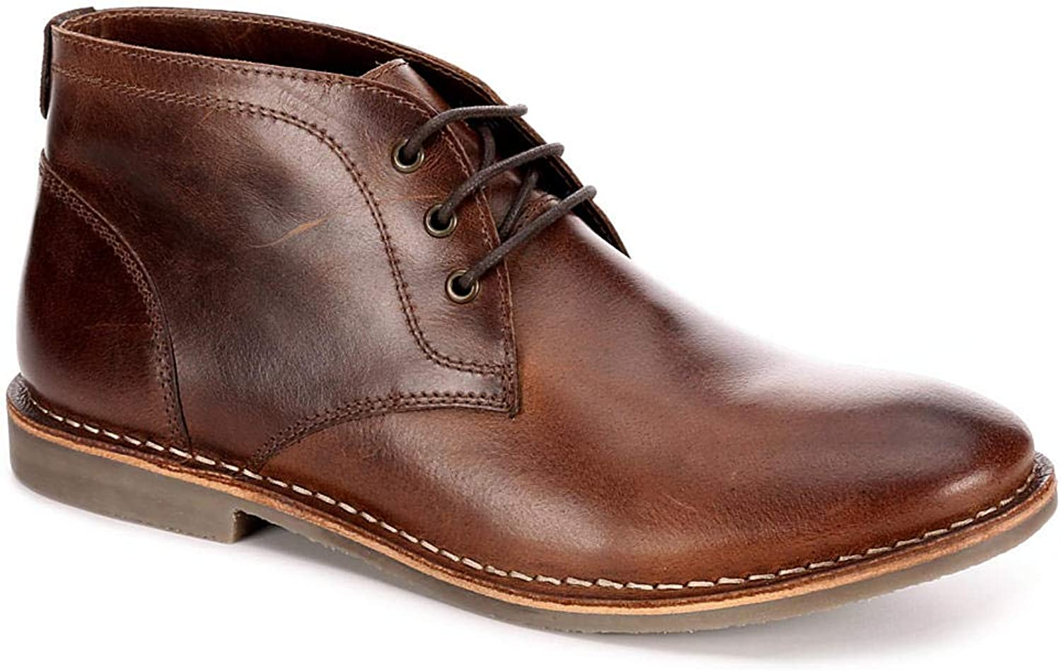 Franco Fortini Mens Hudson Lace Up Chukka Boot shoes