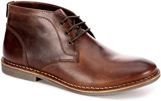 Mens Hudson Lace Up Chukka Boot Shoes