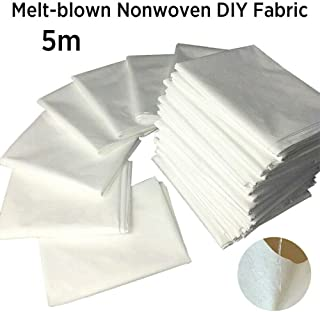 5-20 Meters Melt-Blown Soft Sewing Fabric Fusible Interlining Interfacing Fabric (5m)