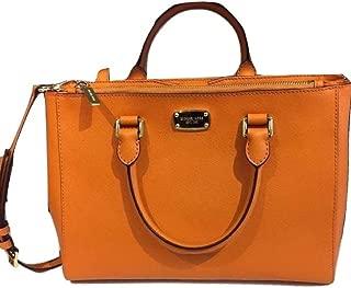 WOMEN'S KELLEN MEDIUM SATCHEL LEATHER Shoulder Handbags