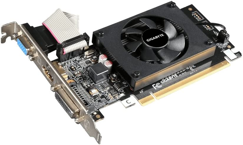 Gigabyte GV-N710D3-2GL REV2.0 -Tarjeta gráfica NVIDIA GeForce GT 710954MHz, 2048MB, PCI Express