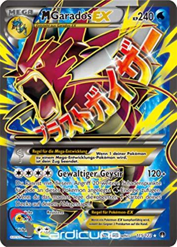 M Garados EX 115/122 Full Art Pokémon XY Turbo Fieber Sammelkarte - Deutsch - Cardicuno