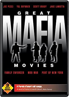 Great Mafia Movies: (Family Enforcer / Mob War / Port of New York)