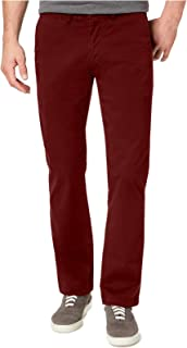 TOMMY HILFIGER Men's TH Flex Stretch Custom-Fit Chino Pants