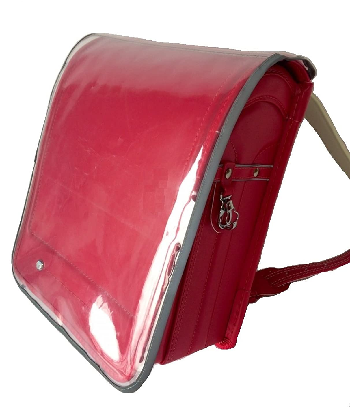 証明する救い子供時代ランドセルカバー 透明 反射 着せ替えポケット付 交通安全 用品 642136