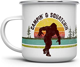 Gzrlyf Id Rather Be Squatchin Keychain Funny Bigfoot Sasquatch Gifts for Bigfoot Lovers Adventure Lover Gifts Travel Lover Gifts