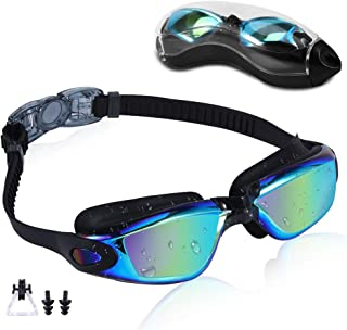 Rapidor Swim Goggles for Men Women Teens, Anti-Fog...