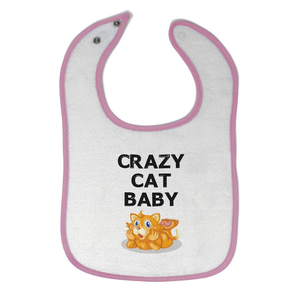 Nippon regular agency Toddler 25% OFF Baby Bibs Burp Cloths Crazy Mouth Sitting Ope with Cat