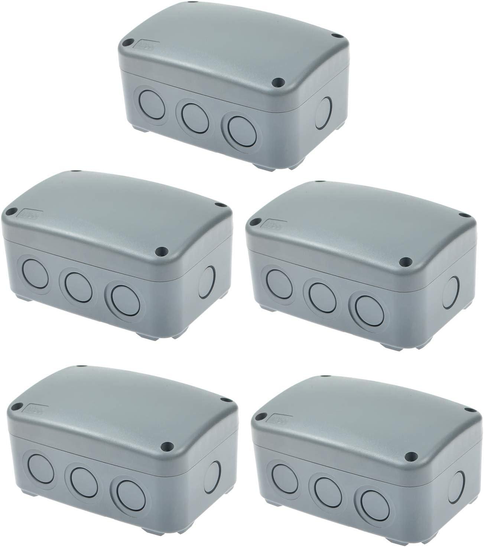 GREENCYCLE 5 Max 62% 5 ☆ very popular OFF PK ABS Dustproof Unive IP66 Junction Box Waterproof