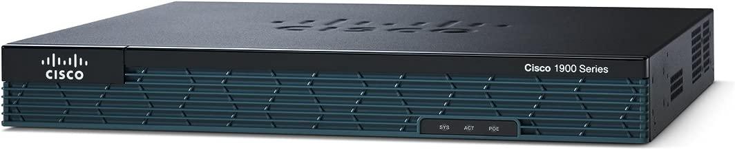 Cisco CISCO1921-SEC/K9 1921 Series Router (Renewed)