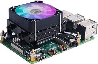 Raspberry Pi 4 B ケースICEタワークーラーファン付きRaspberry Pi ヒートシンク Raspberry Pi ヒートシンク RPi 4 Model B 3B+ 3 B用