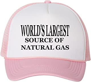 be511bbfd4757 Rogue River Tactical Funny Trucker Hat World s Largest Source Of Natural  Gas Baseball Cap Retro Vintage