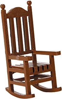 Darice 9190-562 Timeless Miniatures, Wood Rocking Chair