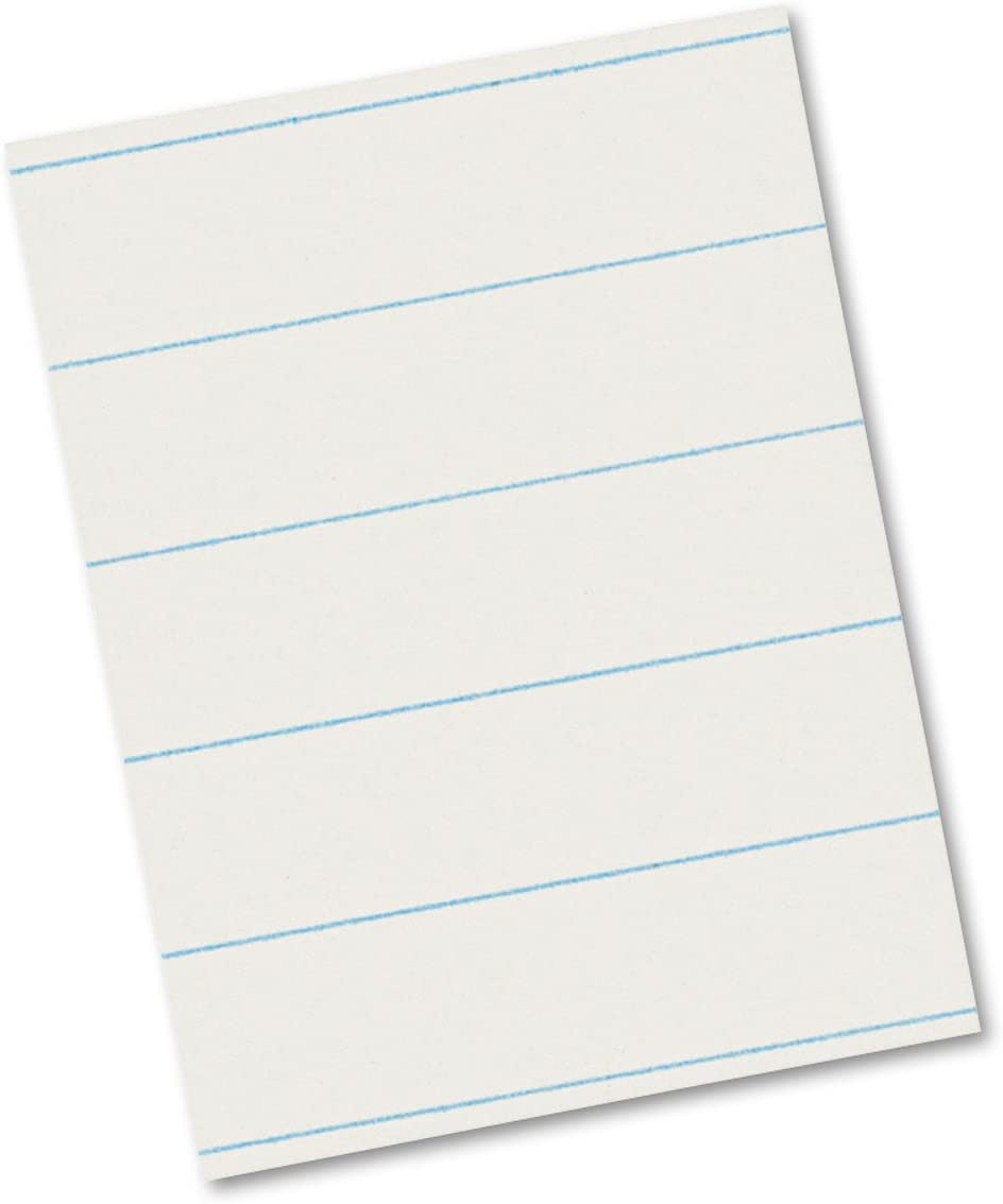 A surprise Max 49% OFF price is realized Pacon 2603 Ruled Newsprint Paper 30 lbs White 2 x 8-1 500 11