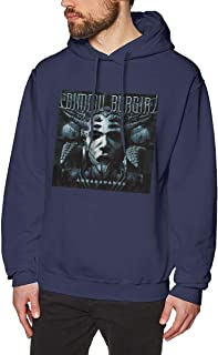 qiaoen Men's Hoodie Dimmu Eonian Borgir Sports Sweatshirt Black
