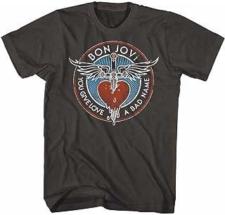 BON JOVI ボン・ジョヴィ (デビュー35周年記念) - BADNAME/Tシャツ/メンズ 【公式/オフィシャル】