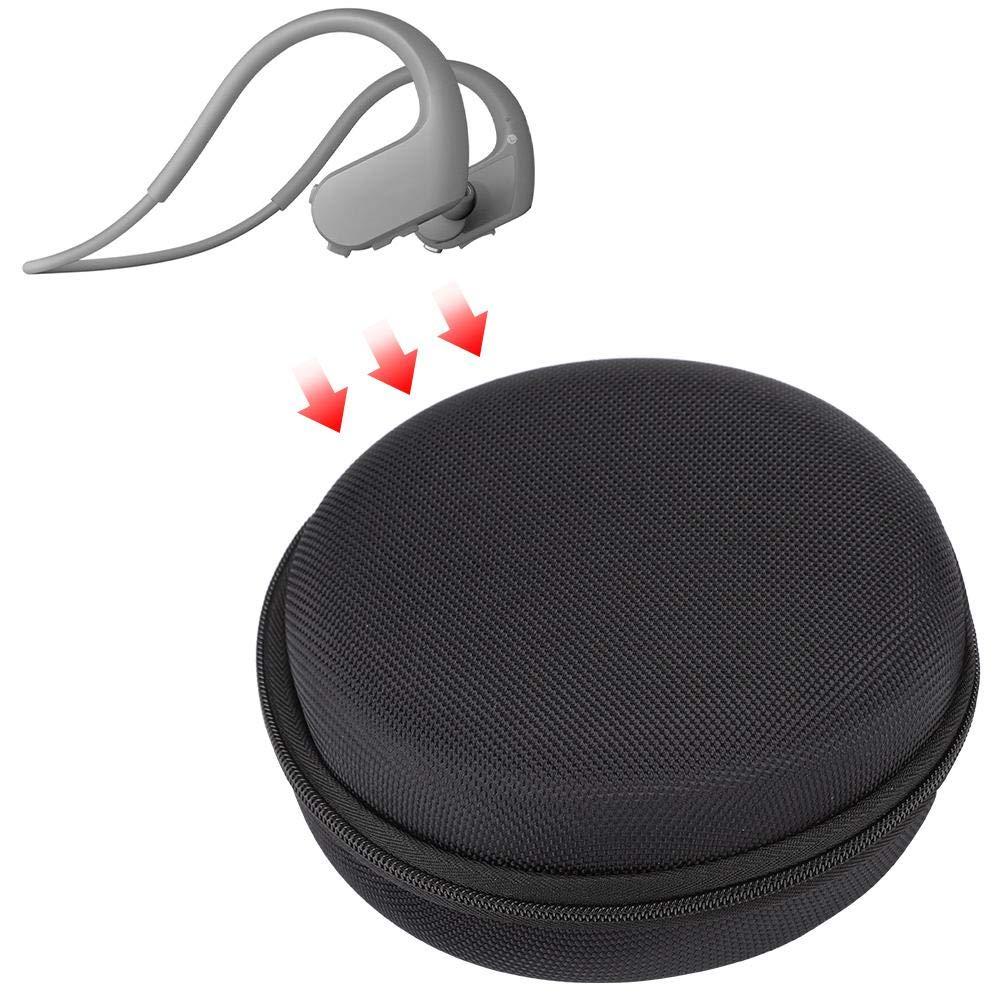 Tangxi Estuche para Auriculares con conducción ósea Bluetooth,Bolsa de Transporte de Nylon para Auriculares,Estuche Protector para Auriculares Sony NW-WS623 Bluetooth Auriculares de conducción ósea: Amazon.es: Electrónica